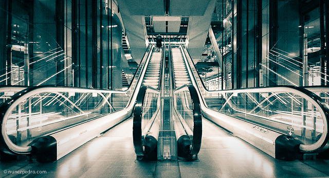 Barajas Airport. Madrid, Spain