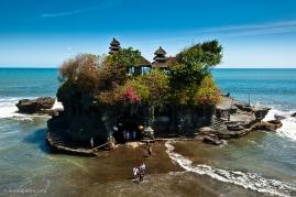 Tanah lot. Bali, Indonesia